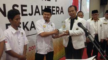 DPC PKS Cibitung terpilih sebagai Struktur terbaik pada anugerah terinspiratif
